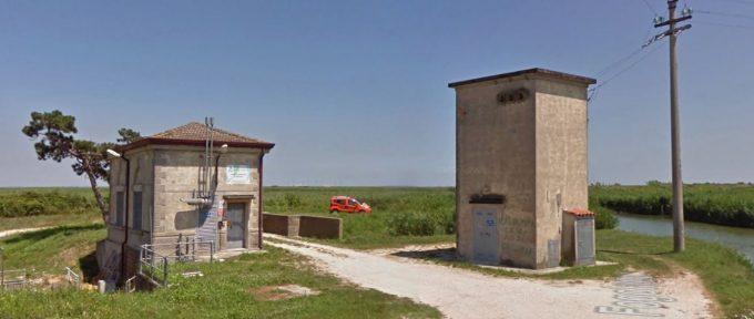 Pumping station of Fogolana (dewatering pump of Fogolana)