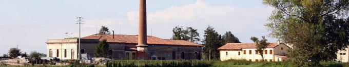 Museum of dewatering pump in Santa Margherita